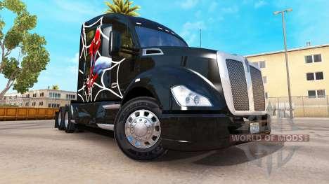Spiderman skin für Kenworth-Zugmaschine für American Truck Simulator