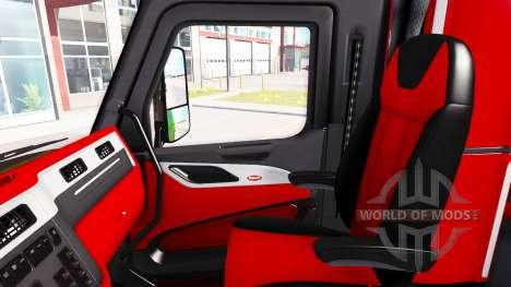 La couleur de Peterbilt 579 intérieur dans le st pour American Truck Simulator