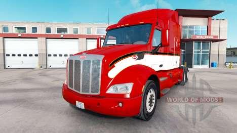 Vintage de la peau pour le camion Peterbilt pour American Truck Simulator