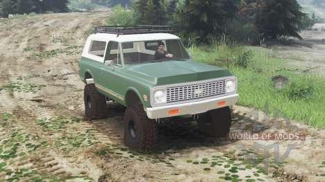 Chevrolet K5 Blazer 1975 [03.03.16] für Spin Tires