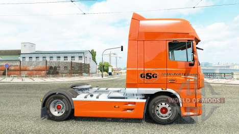 GSG skin for DAF truck pour Euro Truck Simulator 2