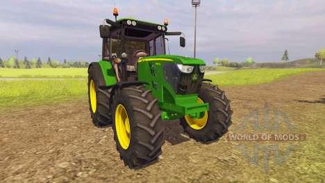 John Deere 6125M v2.0 für Farming Simulator 2013