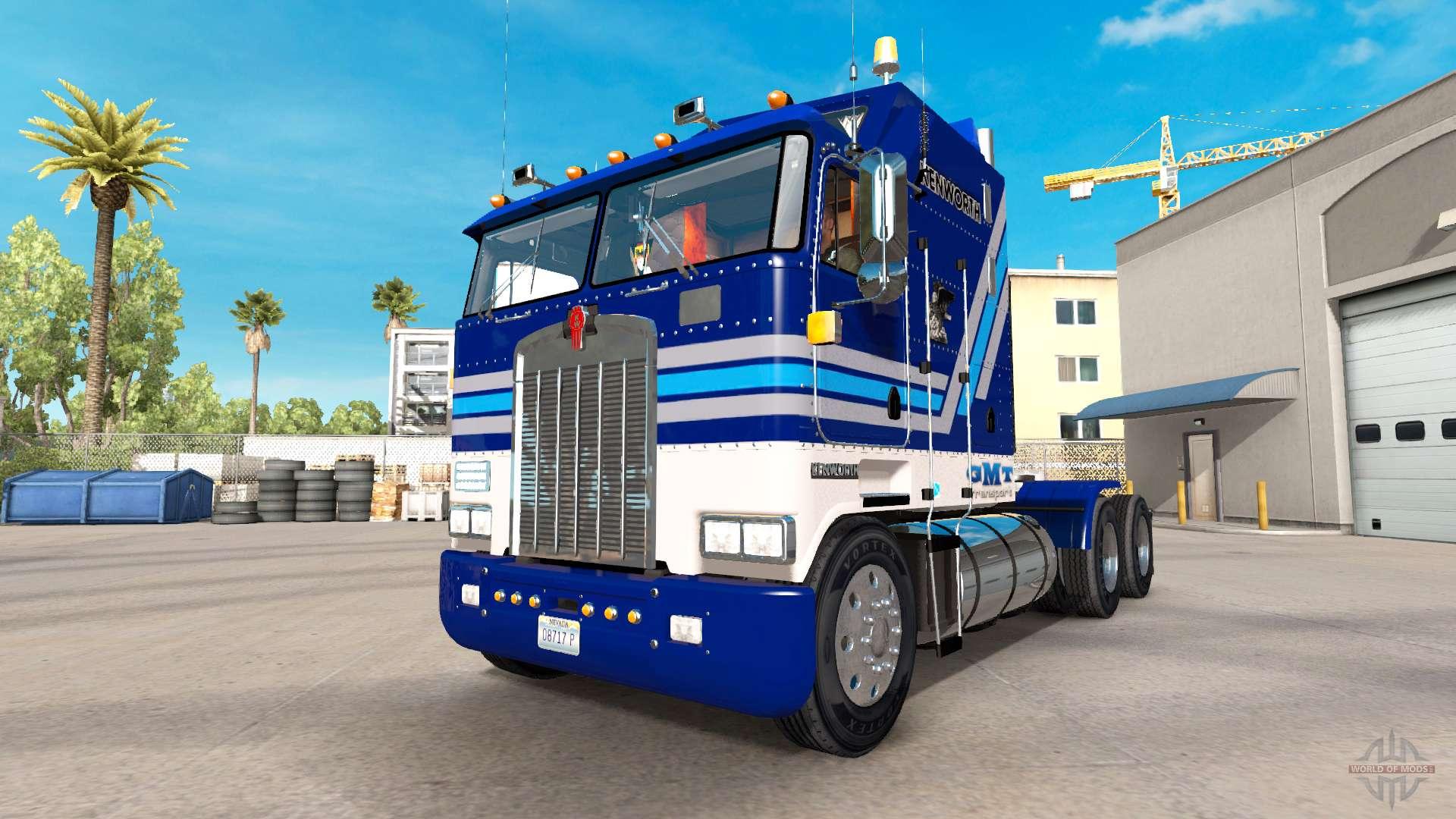 Kenworth K100 Aerodyne Pour American Truck Simulator