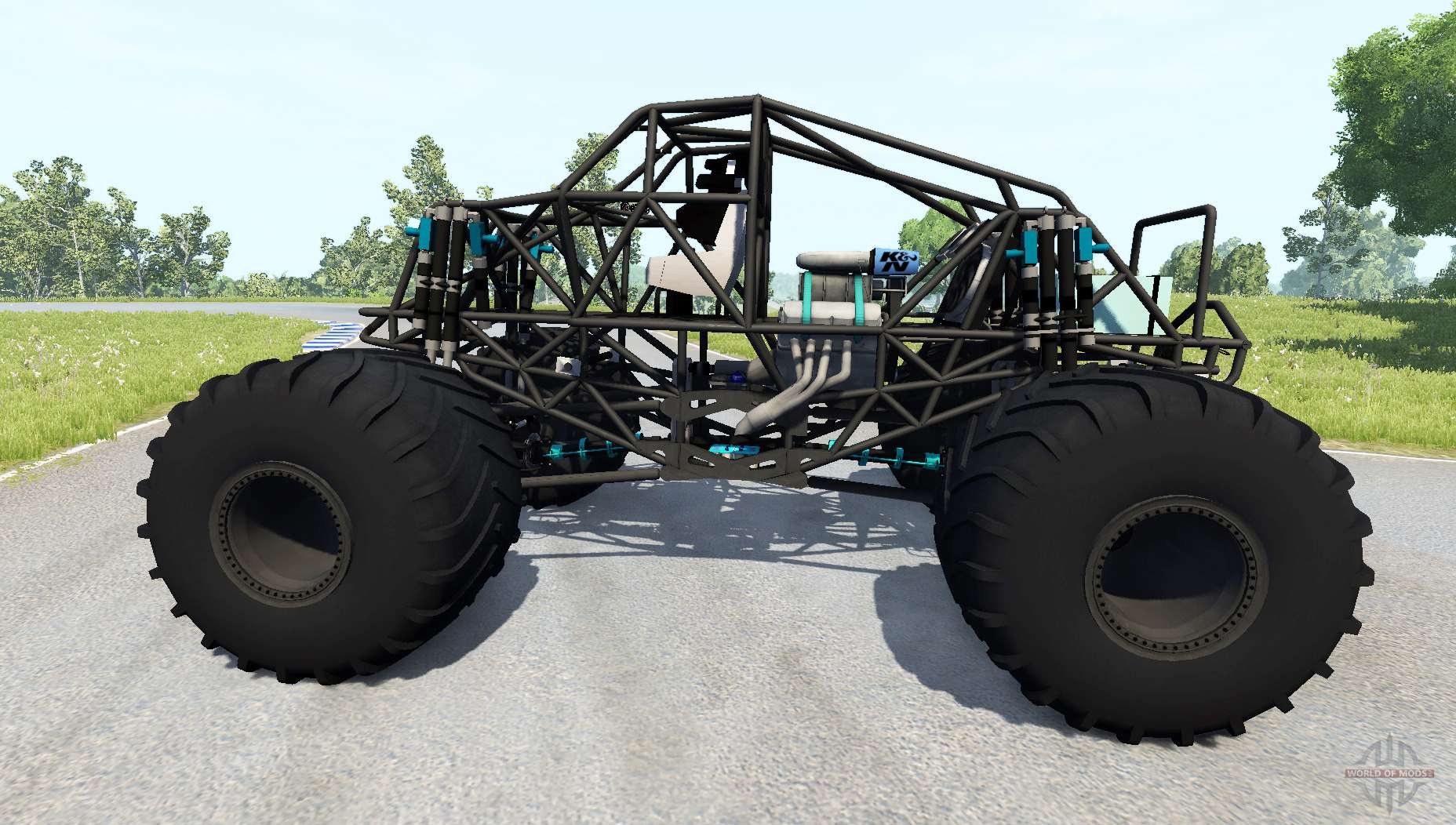 bigfoot monster truck f r beamng drive. Black Bedroom Furniture Sets. Home Design Ideas
