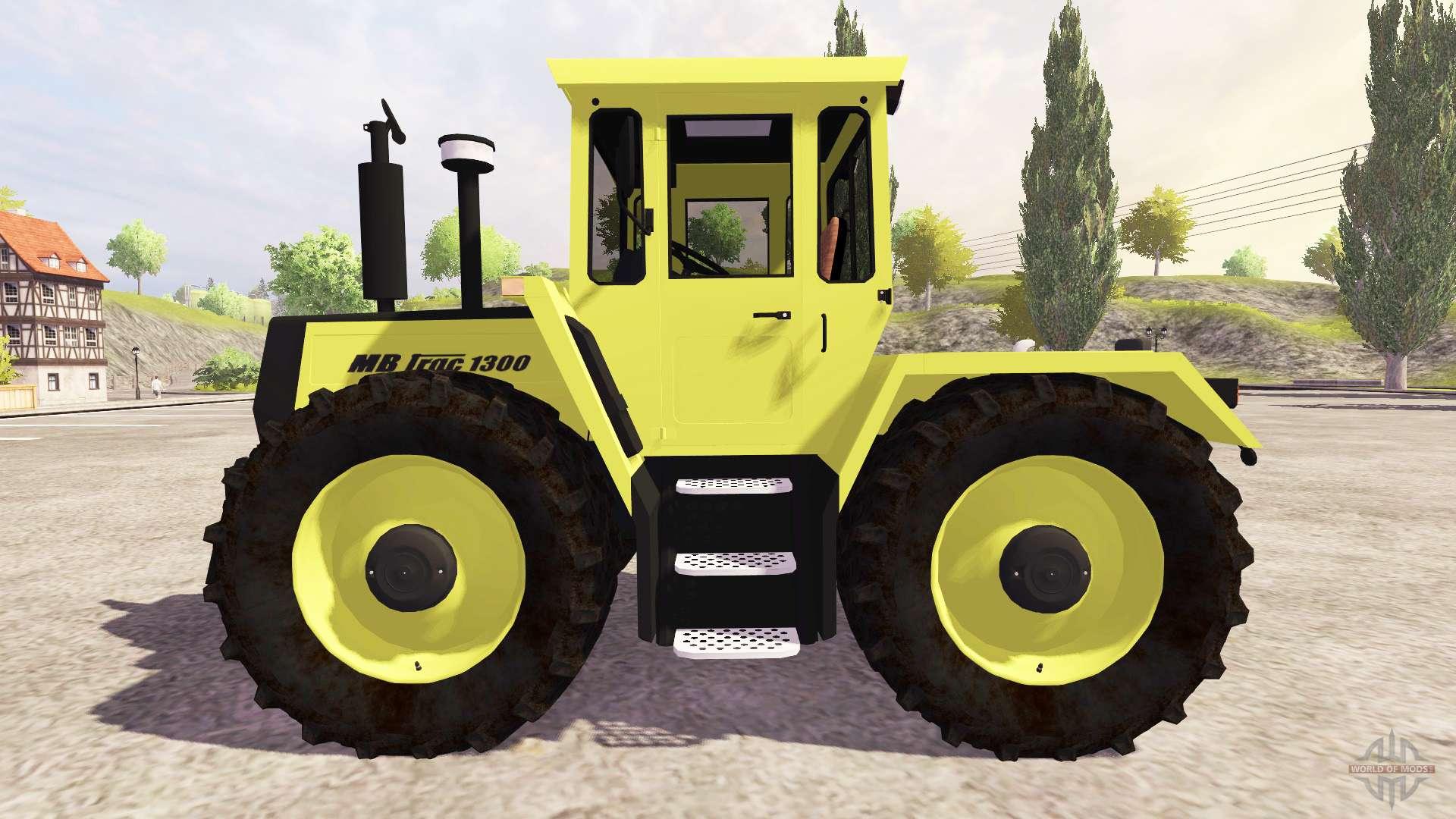 mercedes benz trac 1300 turbo f r farming simulator 2013. Black Bedroom Furniture Sets. Home Design Ideas