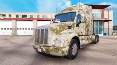 Camouflage-skins für den Peterbilt und Kenworth-