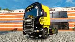 BvB de la peau pour le camion Scania