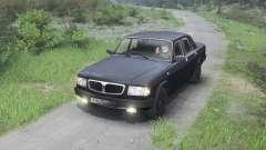GAZ-3110 Volga [noir][03.03.16]