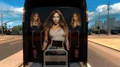 Kenworth W900 Jennifer Lopez Paint Skin