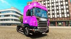 Muller peaux pour les camions MAN, Scania et Vol