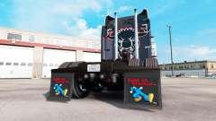 Schlamm-klappen Halten auf Truckin