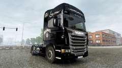 Der Jack Daniels Birthday skin für Scania-LKW