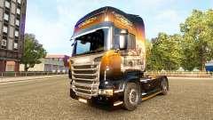 Jack Daniels-skin für den Scania truck