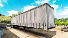 Die semi-trailer Vorhang