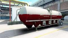 Semitrailer réservoir