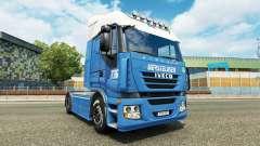 Versteijnen de la peau pour Iveco tracteur