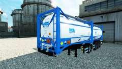 Semitrailer réservoir Nijman zeetank innove en c