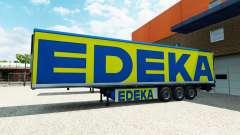 Die semi-trailer EDEKA