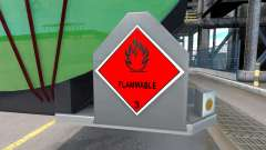 Anzeichen von gefährlichen Gütern