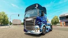Erde skin für Scania-LKW