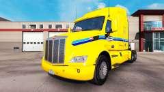 La peau Penske Truck Rental camion Peterbilt
