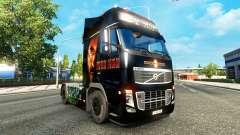 Ironman de la peau pour Volvo camion