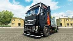 Feuer skin für den Volvo truck