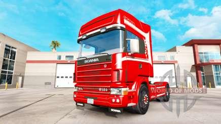 Scania 164L 580 v2.2.1 pour American Truck Simulator