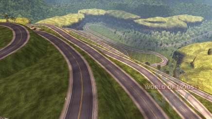Karte Von Peru für American Truck Simulator