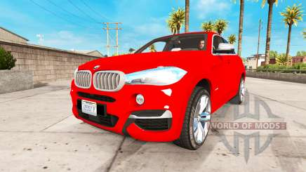 BMW X6 M50d 2015 pour American Truck Simulator