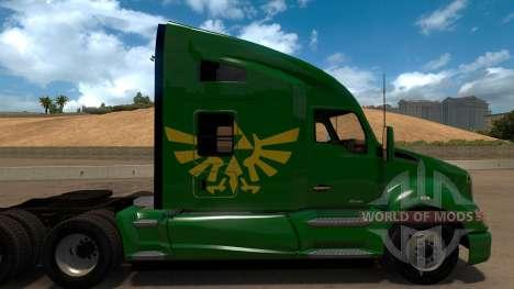 Zelda Skin for Peterbilt 579 für American Truck Simulator