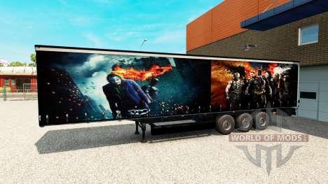 Trailer De Batman pour Euro Truck Simulator 2