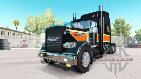 Le Sommet Plat de Transport de la peau pour Pete pour American Truck Simulator