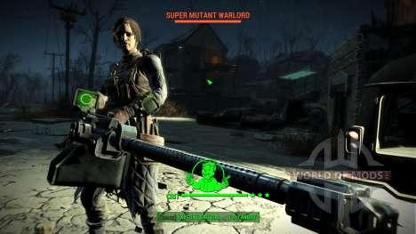 WH-Mk22 Heavy Machinegun pour Fallout 4