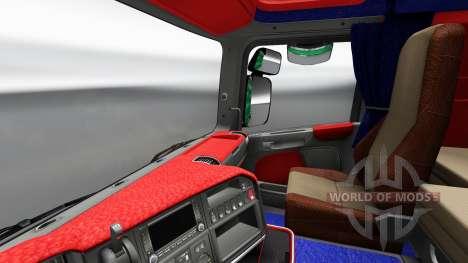 Interior von Scania Leda für Euro Truck Simulator 2