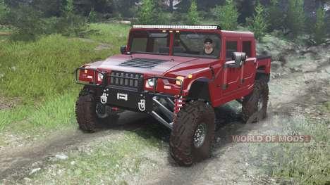 Hummer H1 [03.03.16] für Spin Tires