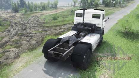 KamAZ-1988 5425С [03.03.16] pour Spin Tires