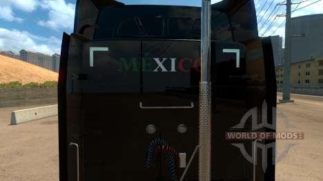 Skin Mexico Peterbilt 579 für American Truck Simulator