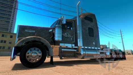 Kenworth W900 SCS Paintjob für American Truck Simulator