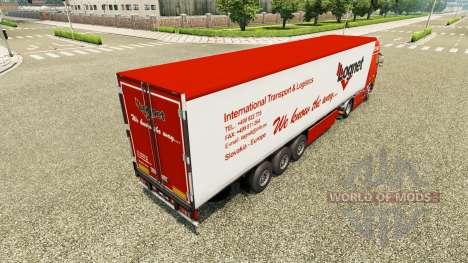 Lognet peau v2.0 pour Volvo camion pour Euro Truck Simulator 2