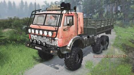 KamAZ 4310 UdSSR [03.03.16] für Spin Tires