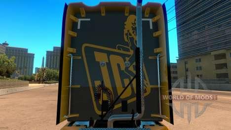 JCB skin für Kenworth T680 für American Truck Simulator