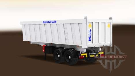 Autonomous semi-truck pour American Truck Simulator