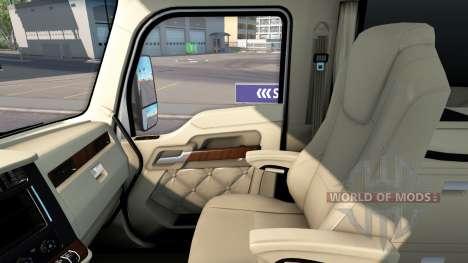 L'intérieur de luxe dans Kenworth T680 pour American Truck Simulator