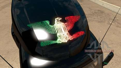 Skin Mexico Peterbilt 579 pour American Truck Simulator