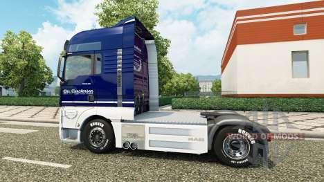 Carstensen Haut für MAN truck v2.0 für Euro Truck Simulator 2