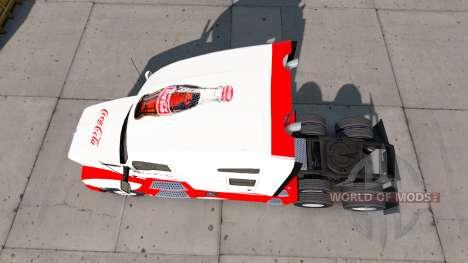 La peau de Coca-Cola tracteur Kenworth pour American Truck Simulator