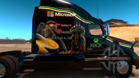 Xbox peau pour Peterbilt 579 pour American Truck Simulator