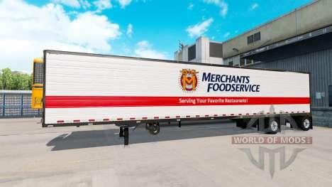 Achs-Anhänger Deutsche Dogge zu Verbreiten Achse für American Truck Simulator