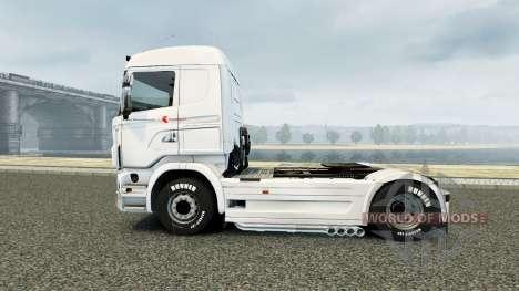 Skin von Klaus Bosselmann für Scania-LKW für Euro Truck Simulator 2